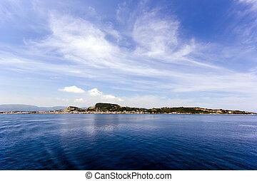 landscape of zante island - landscape of the beautiful...