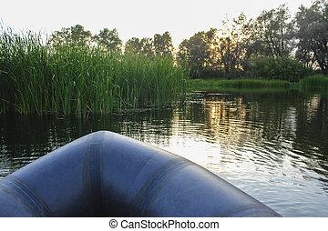 Landscape on the lake