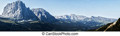 Landscape on the mountains of Trentino
