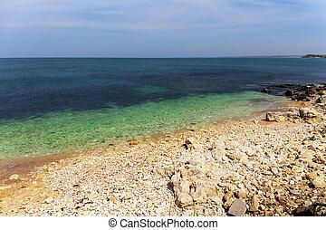 landscape on the shore