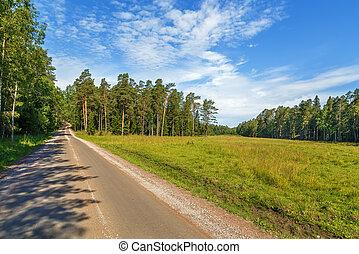 Landscape on Valaam Island, Russia - Landscape on Valaam...