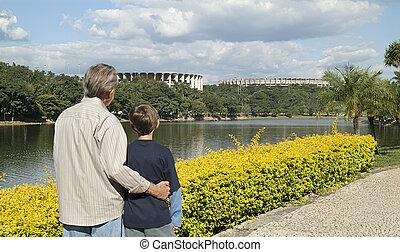 Pampulha - Landscape Photography Urban Belo Horizonte,...