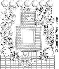 Plan of Landscape