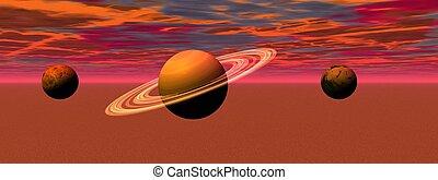 landscape planets