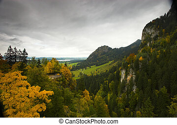 Landscape seen from castle