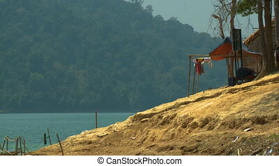 Landscape View From Orang Asli Village, Malaysia