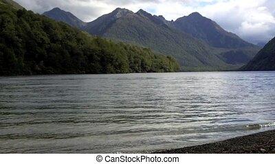 Landscape view of Fiordland NZL - Landscape view of...