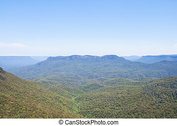 Landscape view of Kangaroo Valley, Australia