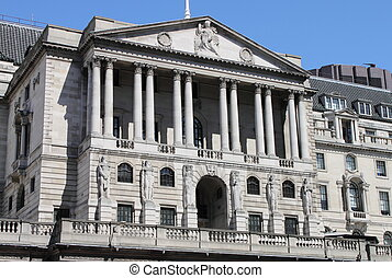 Bank of England - Landscape view of the Bank of England...