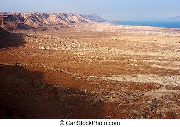 Landscape View of the Dead Sea