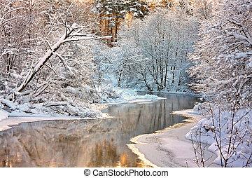 landscape, winter