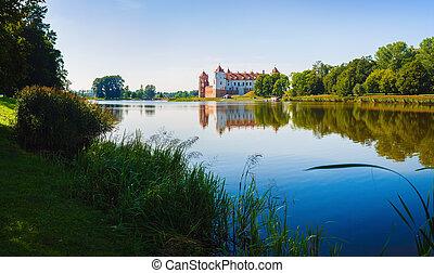 Landscape with a castle