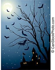 eve of halloween
