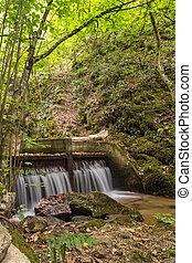 Landscape with Barlen Dere River in Belasica Mountain,...
