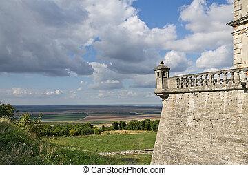 Pidhirtsi Castle in Ukraine