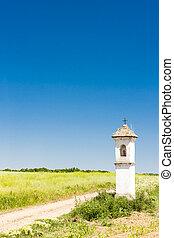 landscape with God's torture in Southern Moravia, Czech Republi