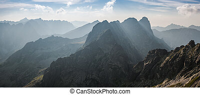 Landscape with Mountain Ranges