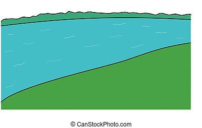 landscape with river.eps