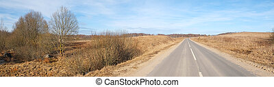 image of country road