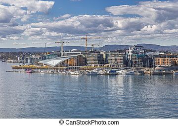 Landscape with the image of Oslo