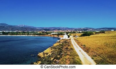 Landscape with traditional greek church - Amazing landscape...