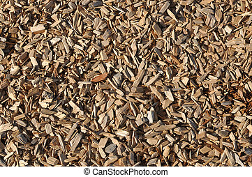 Landscape Wood Background