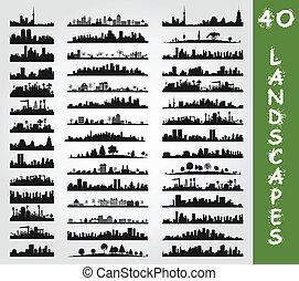 landscape7, 城市