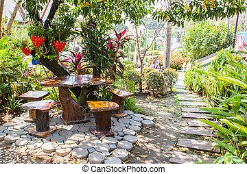 landscaped, tuin