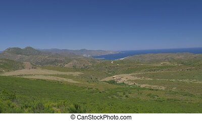 Landscapes Around Cap Norfeu and Roses, Spain - native...