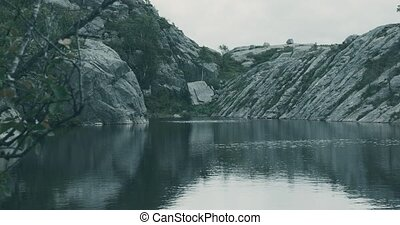 Landscapes Around The Preikestolen, Norway - Graded and...