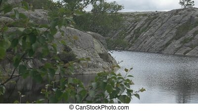 Landscapes Around The Preikestolen, Norway - Untouched and...