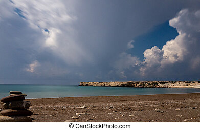 Landscapes of the island of Cyprus