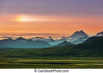 Denali highway - Landscapes on Denali highway, Alaska. ...