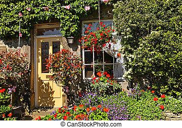landscaping, сад, жилой