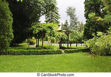 landscaping, jardinage