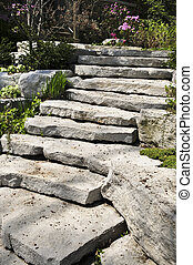 landscaping, kamień, kasownik