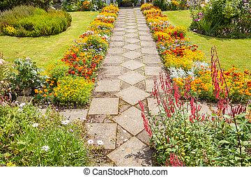 landscaping, sentiero giardino