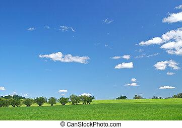 landschaft, ländlich