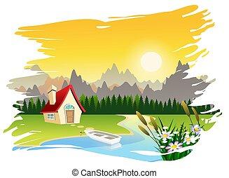 landschaftlich, landschaftsbild