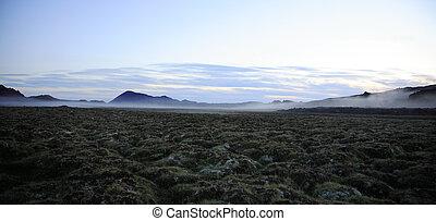 landschaftsbild, island