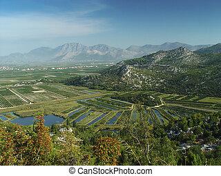 landschaftsbild, kroatisch