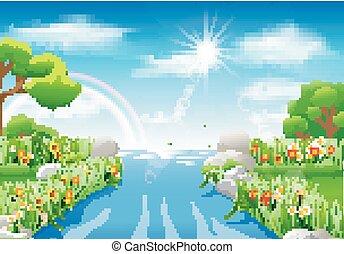 landschaftsbild, natur