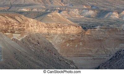 landschaftsbild, negev wüste, israel