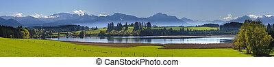 landschaftsbild, panorama