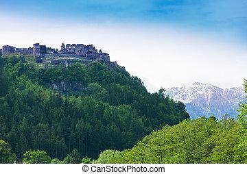 Landskron castle in Austria