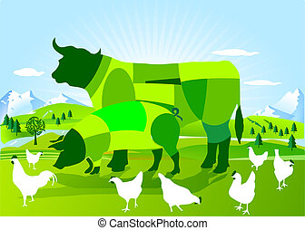 landwirtschaft, bio-dynamic