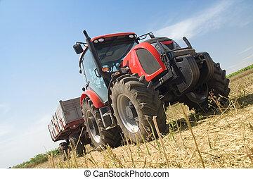 landwirtschaft, -, traktor