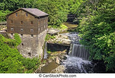 Lanerman's Mill - The historic Lanterman's Mill in Mill ...