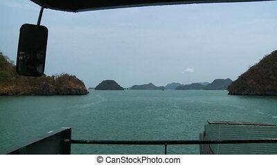 Langkawi Island Landscape View, Langkawi Ferry - Wide...