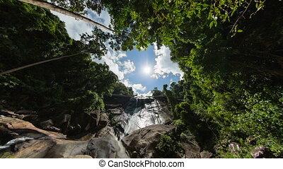 langkawi island timelapse with wide lens - langkawi island...